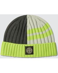 d639830fe Logo Patch Knitted Beanie - Gray