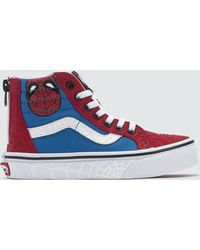 Vans Marvel Sk8-hi Zip - Red