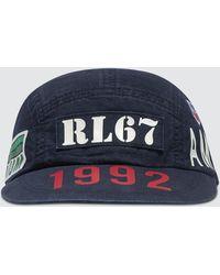 Polo Ralph Lauren Indigo Stadium 5 Panel Hat - Blue