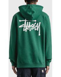 Stussy Basic Hoodie - Green