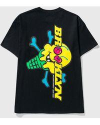 ICECREAM Ice Cream × Brooklyn Machine Works T-shirt - Black