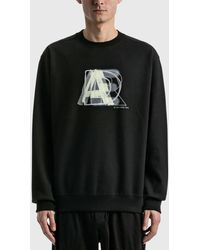 ADER error Layer Logo Sweatshirt - Black