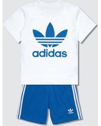 adidas Originals Shorts & T-shirt Set - Blue