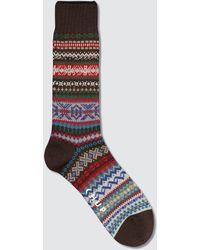 Chup Ottelu Socks - Red