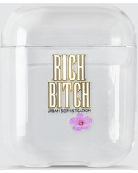 Urban Sophistication - Rich Bitch Airpods Case - Lyst