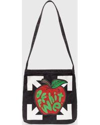Off-White c/o Virgil Abloh Apple Shoulder Bag - Black