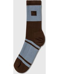 Acne Studios Face Socks - Multicolour