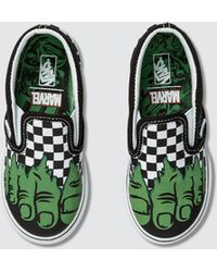Vans Marvel Classic Slip-on - Green
