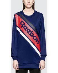 Reebok - Gr Crewneck Sweatshirt - Lyst