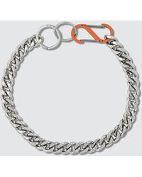 Martine Ali Cuban Chain Necklace - Metallic