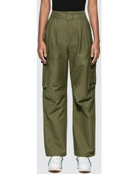 ADER error Wide Fit Cargo Trousers - Green