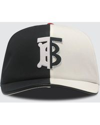 Burberry Trucker Cap - Black