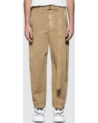 Lemaire Twisted Chino Pants - Natural