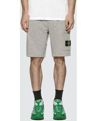 Stone Island Cargo Bermuda Shorts - Grey