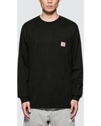 Carhartt WIP - Pocket L/s T-shirt - Lyst