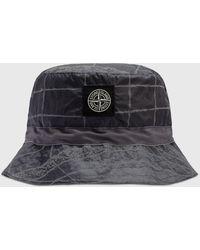 Stone Island Bucket Hat - Blue