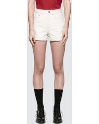 WOOD WOOD Oda Shorts - White