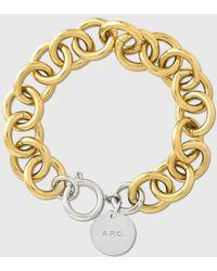 A.P.C. Pauline Bracelet - Metallic