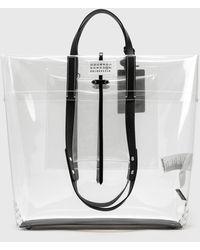 Maison Margiela Transparent Shopping Bag - Multicolor