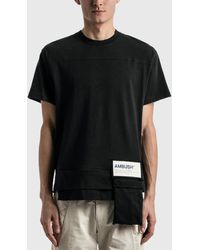 Ambush Waist Pocket Jersey T-shirt - Black