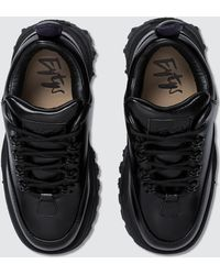 Eytys Angel Leather Trainer - Black