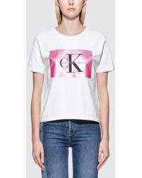 Calvin Klein Jeans - Tecara 40 Cn S/s T-shirt - Lyst