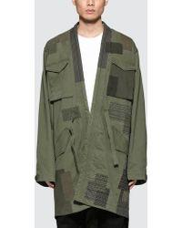 Maharishi - Boro Ma65 Kimono - Lyst