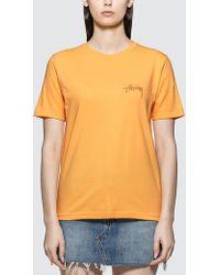 Stussy - Stock Short Sleeve T-shirt - Lyst