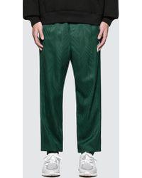 Alexander Wang - Custom Wool Jacquard Track Trousers - Lyst