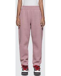 T By Alexander Wang Wash & Go Dense Fleece Pants - Pink