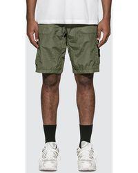 Stone Island Cargo Bermuda Shorts - Green