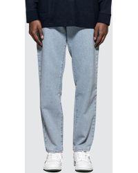 Perry Ellis - Light Washed Denim Jeans - Lyst