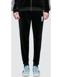 adidas Originals Have A Good Time X Adidas Veloup Track Pants - Black
