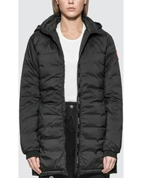 Canada Goose Camp Hooded Jacket - Black