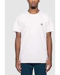 Maison Kitsuné Fox Head Patch T-shirt - White