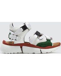 Chloé - Sonnie Sandal Sneakers - Lyst
