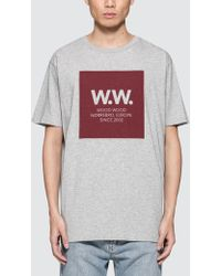 WOOD WOOD - Square S/s T-shirt - Lyst