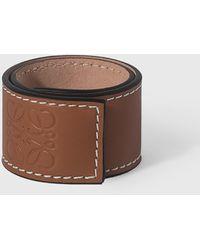 Loewe Small Slap Bracelet - Brown