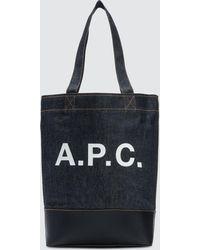A.P.C. - Sac A Main/bandouliere Tote Bag - Lyst