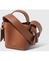 Acne Studios Musubi Micro Bag - Brown