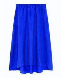 American Vintage - Blue Nonogarden Skirt - Lyst