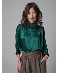 Helene Galwas Camellia - Green