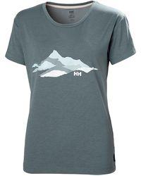 Helly Hansen - Skog Recycled Graphic Jersey Tshirt L - Lyst