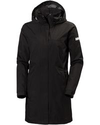 Helly Hansen W Aden Long Coat - Black