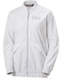 Helly Hansen W Scape Long Jacket - White