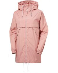 Helly Hansen W Jpn Raincoat - Pink