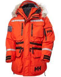 Helly Hansen Parka Modulare Arctic Patrol - Rosso