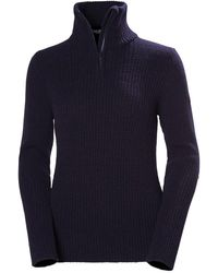 Helly Hansen W Marka Wool Jumper - Blue