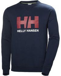 Helly Hansen - Logo Crew Sweatshirt - Lyst