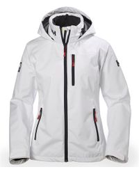 Helly Hansen W Crew Hooded Jacket - White